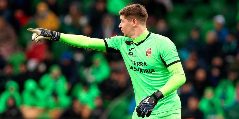 Беленов признан лучшим игроком «Уфы» в первой части сезона
