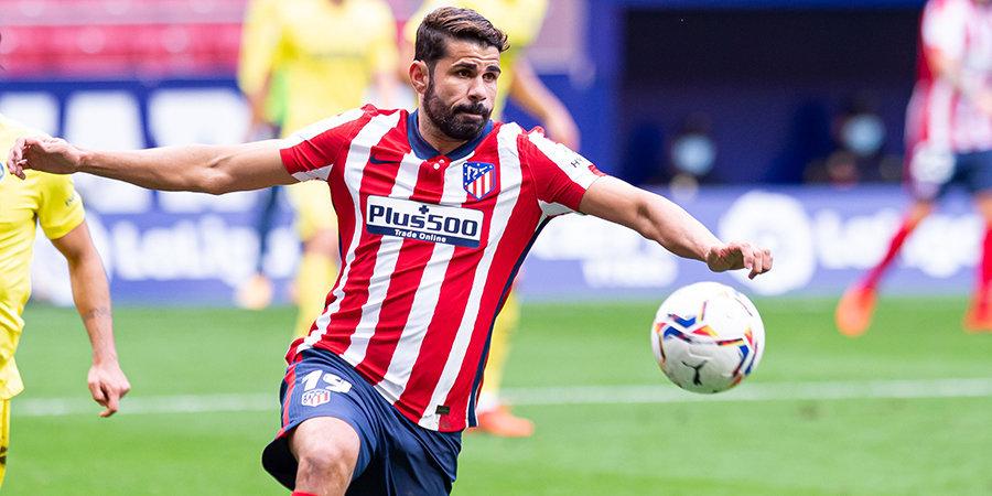 Диего Коста согласился на переход в «Бенфику»