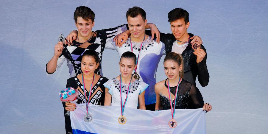 Российские пары заняли весь пьедестал в финале юниорского Гран-при