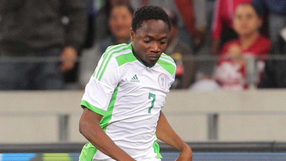 Муса отметился дублем за сборную Нигерии