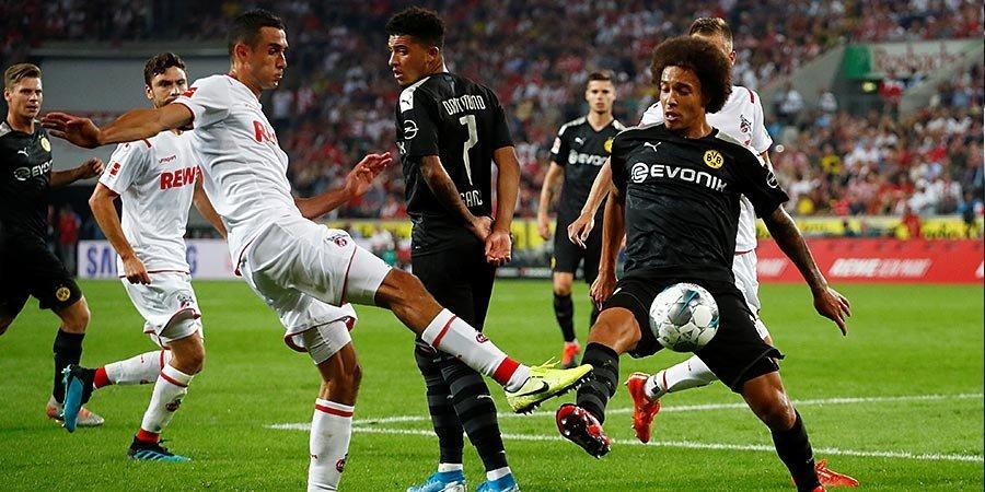 «Боруссия» перевернула игру против «Кельна». Голы и лучшие моменты