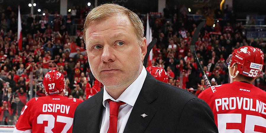 Ковальчук оценил назначение Жамнова главным тренером сборной России