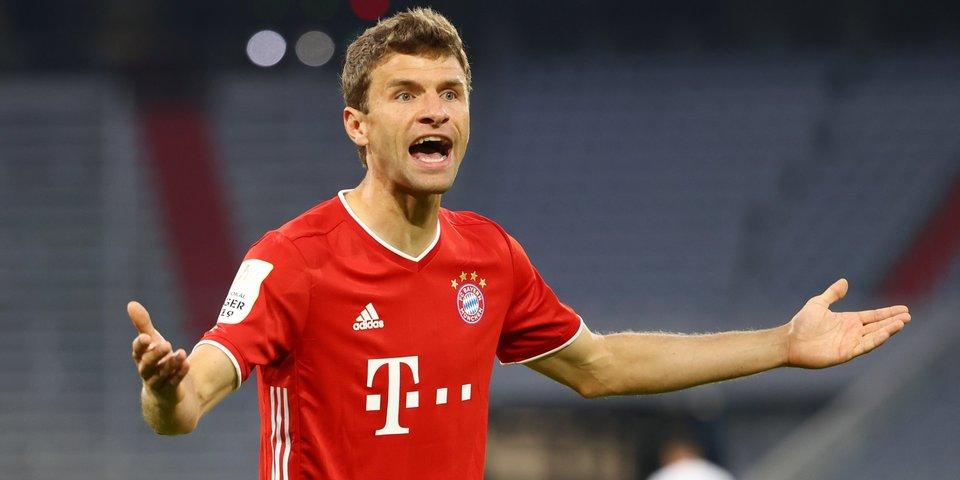 «Вы сейчас смеетесь!» Мюллер поругался с журналисткой после вылета «Баварии» из Кубка Германии
