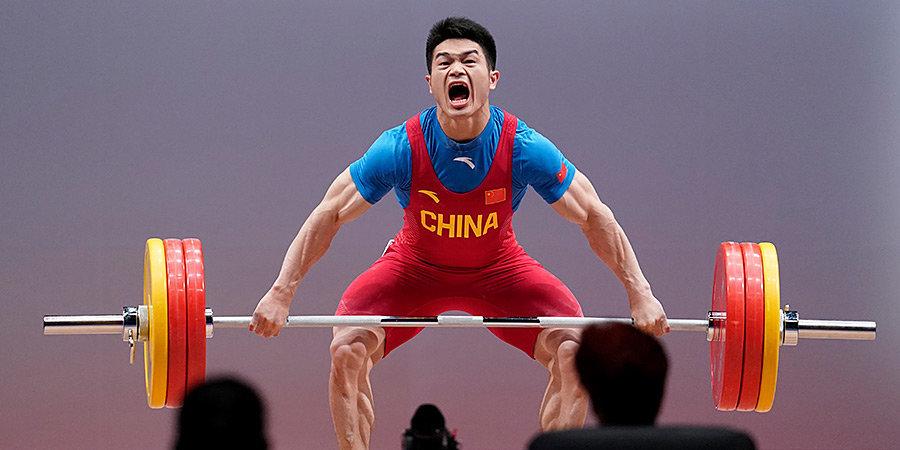 Китаец Чжиюн установил мировой рекорд в толчке в весовой категории до 73 кг