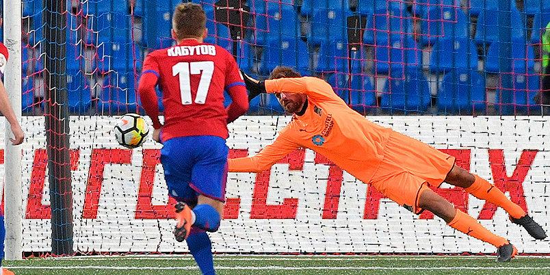 Крицюк спасает «Краснодар» и выводит команду на третье место