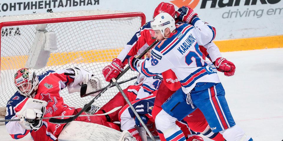 Департамент судейства КХЛ заявил об ошибке во время буллитной серии в матче СКА - ЦСКА