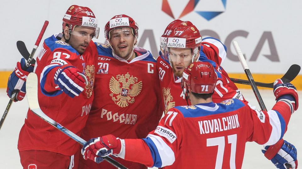 Сборная России забросила 5 шайб в ворота чехов