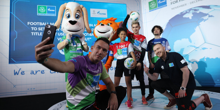 Международная детская социальная программа «Футбол для дружбы» установила новый мировой рекорд Гиннесса