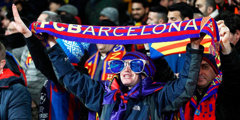 Более 3000 болельщиков «Барселоны» выложили футболку клуба на Манхэттене