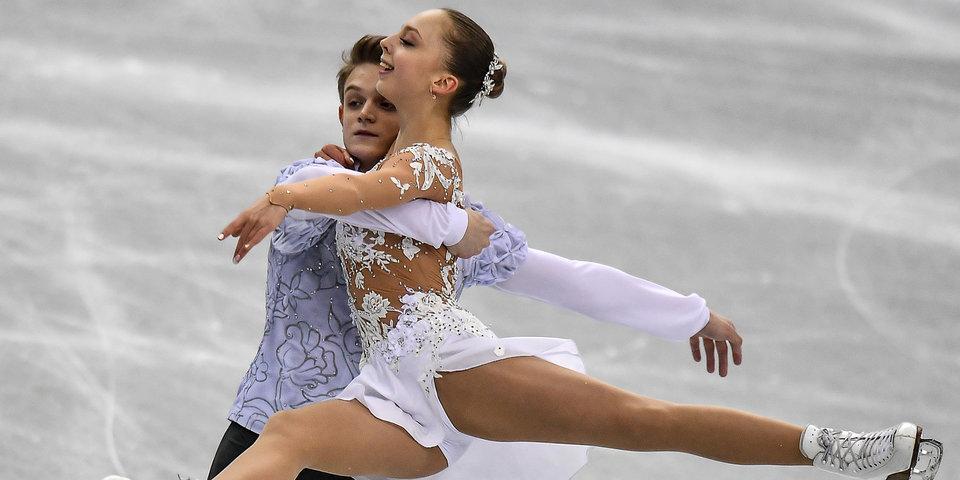 Бойкова и Козловский выиграли этап Гран-при в Москве, Тарасова и Морозов — вторые