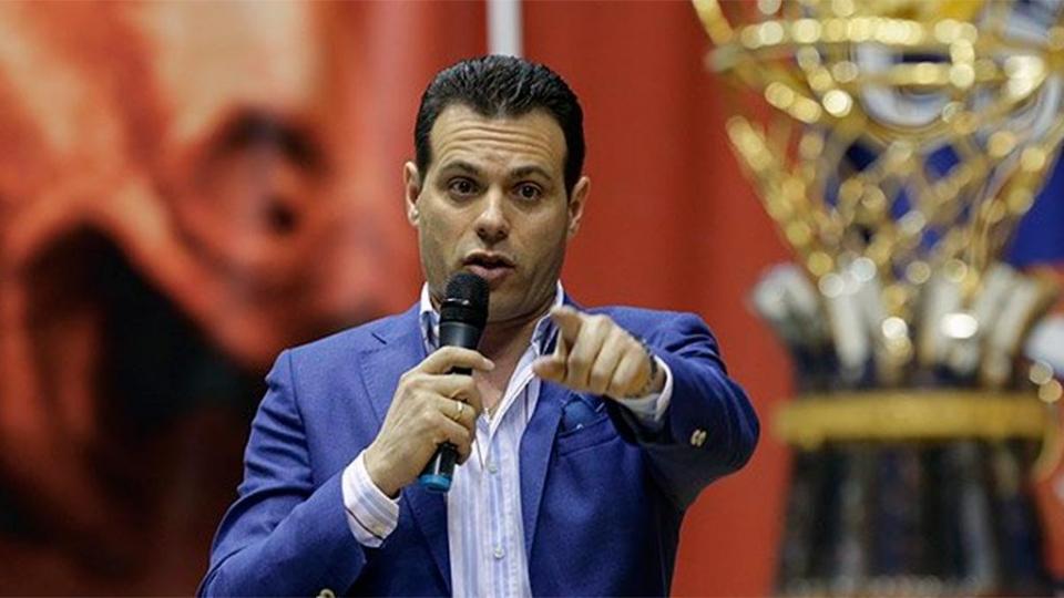 Димитрис Итудис: «Мы живем в сумасшедшем мире, и спорт должен нас спасти»