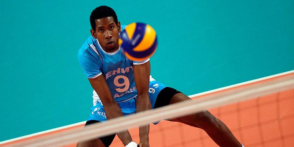 Доигровщик «Зенита» Леон – самый высокооплачиваемый волейболист в мире