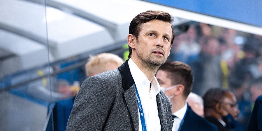 Сергей Семак: «Оздоев и Караваев не полностью готовы к матчу с «Мальме»