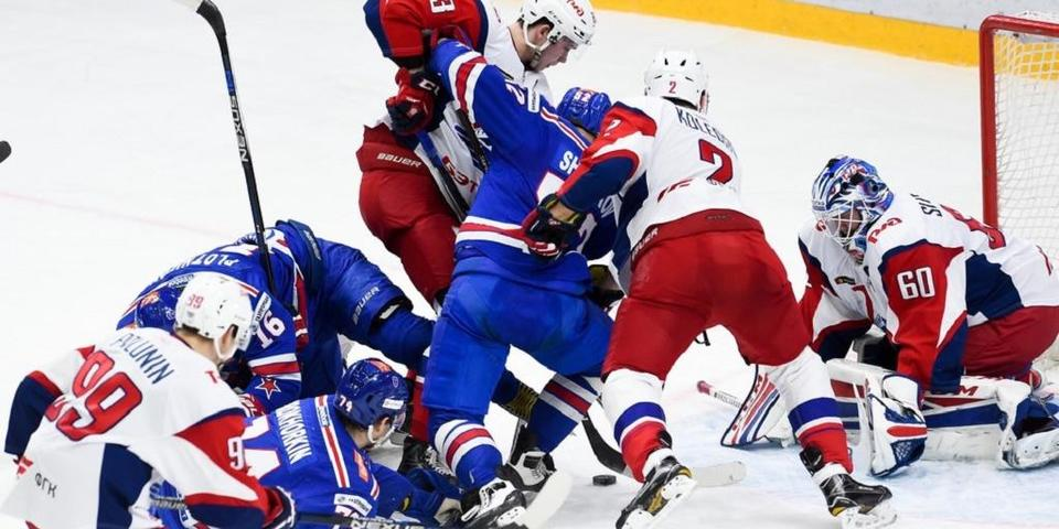 СКА без Дацюка вырвал у «Локомотива» победу на старте полуфинала Кубка Гагарина