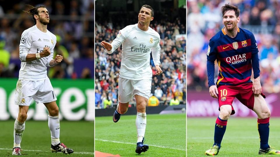 Месси, Роналду и Бэйл претендуют на звание лучшего игрока 2016 года