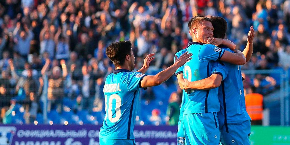 «Балтика» одержала волевую победу над «Томью»