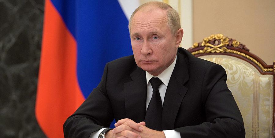 Путин поприветствовал участников Кубка президента по современному пятиборью