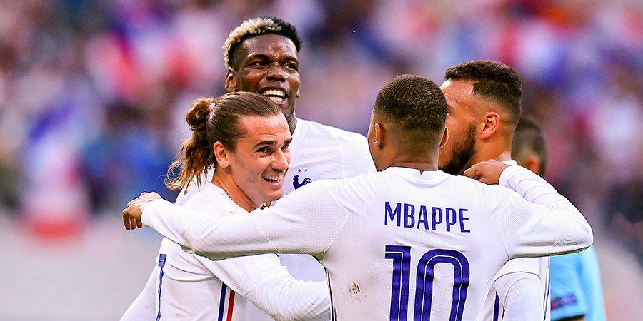 Франция и Германия определились со стартовыми составами на матч Евро-2020