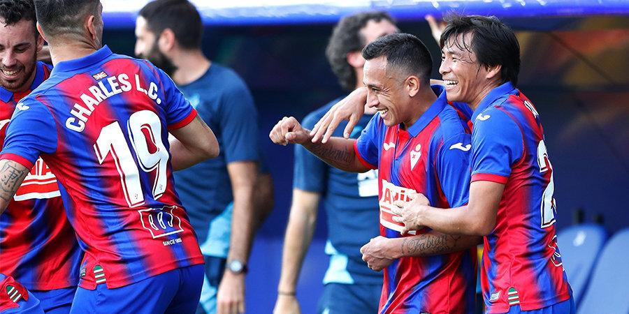 «Эйбар» одержал первую победу с января, дома переиграв «Алавес»