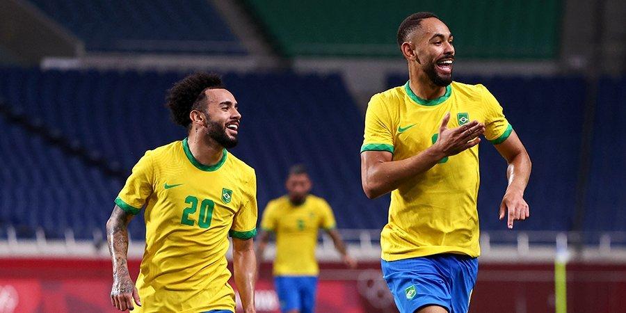 Бразилия в серии пенальти обыграла Мексику и вышла в финал Олимпиады в Токио