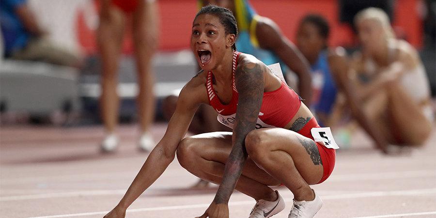 «Результат шокировал. Хорошо, что у Бахрейна нет эстафеты...» Обсуждаем феноменальные 400 метров на ЧМ с двукратной чемпионкой Европы