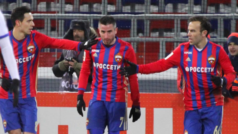 ЦСКА победил «Оренбург» в 300-м матче Слуцкого