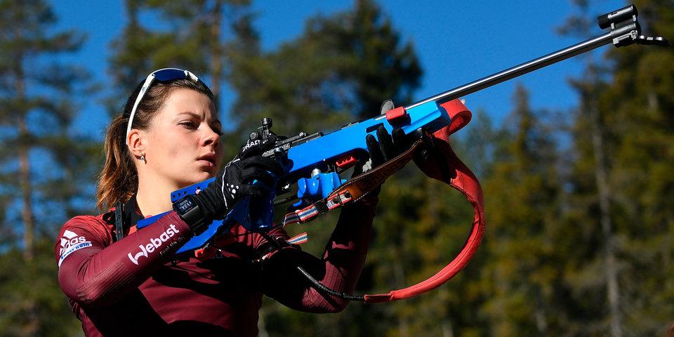 Морозова выиграла спринт в рамках Кубка IBU в Риднауне