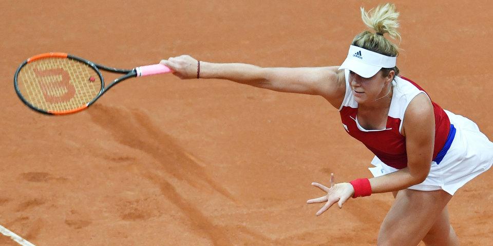 Павлюченкова обыграла Скьявоне и выиграла турнир в Рабате