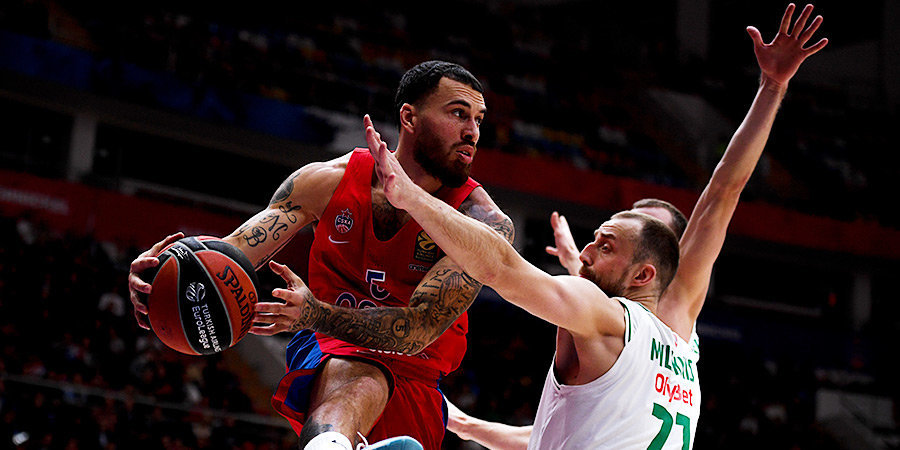 Баззер Джеймса принес ЦСКА победу над «Жальгирисом» в овертайме