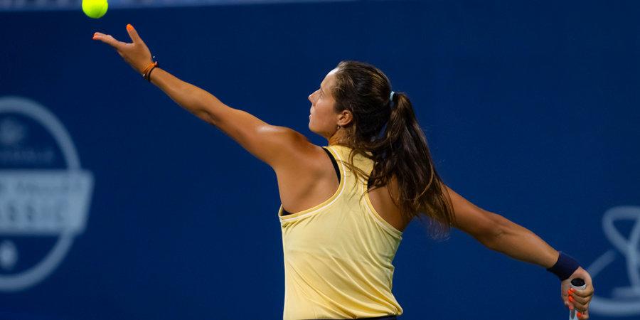 Касаткина вышла в 1/8 финала турнира в Парме