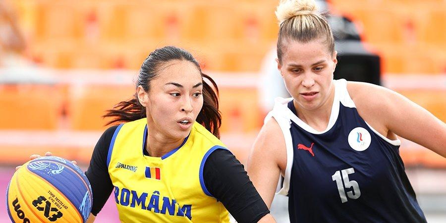 Россиянки разгромили сборную Румынии в баскетболе 3х3