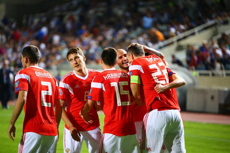 Единая лига поздравила сборную России с выходом на Евро-2020
