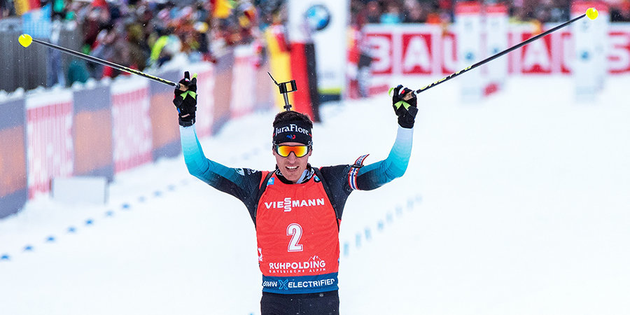 Кентен Фийон Майе победил в пасьюте в Хохфильцене, Гараничев — лучший из россиян
