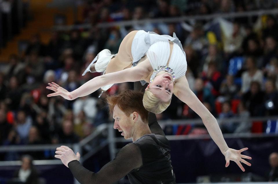 Тарасова и Морозов выиграли серебро чемпионата мира, Забияко и Энберт — бронзу