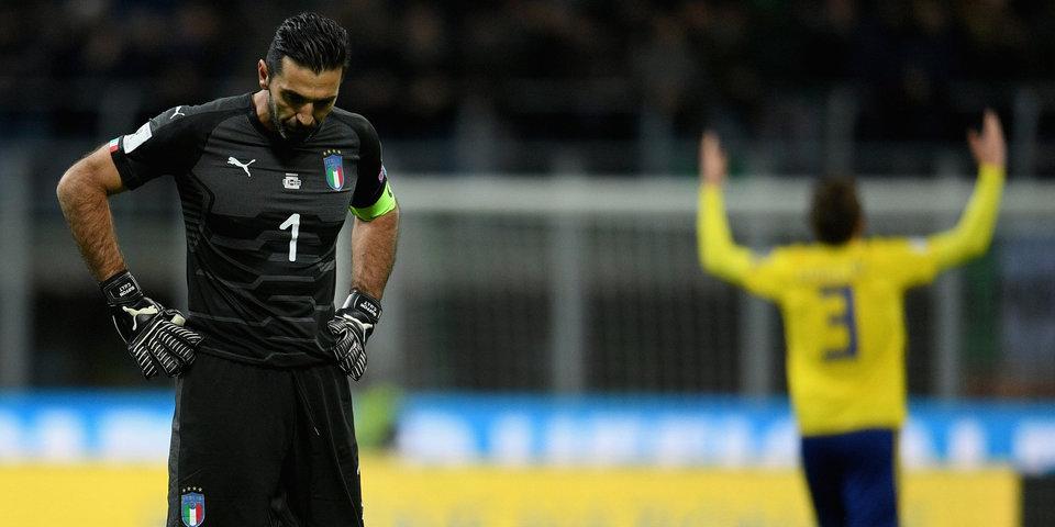 Буффон вспомнил дебют в сборной Италии в Москве
