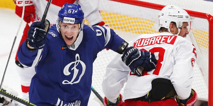 Яшкин забил носом, Брюквин выиграл «битву в шкафу», а Бочаров сделал «сухарь». Как «Динамо» разгромило «Спартак»