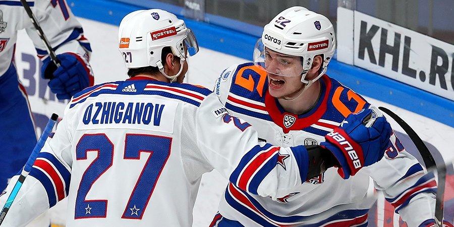 СКА всухую победил «Сочи» на турнире Sochi Hockey Open