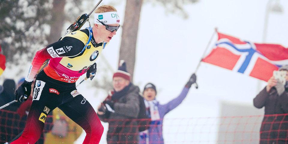 Туман не помешал Бе выиграть спринт на родине, Логинов — 9-й, четверо россиян — мимо пасьюта. Как это было