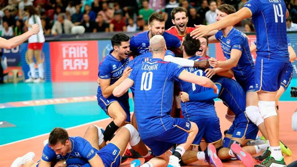 Франция в пяти сетах одолела США, вырвав путевку в финал Лиги наций