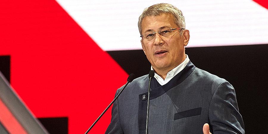 Радий Хабиров: «У «Уфы» появится базовый спонсор»
