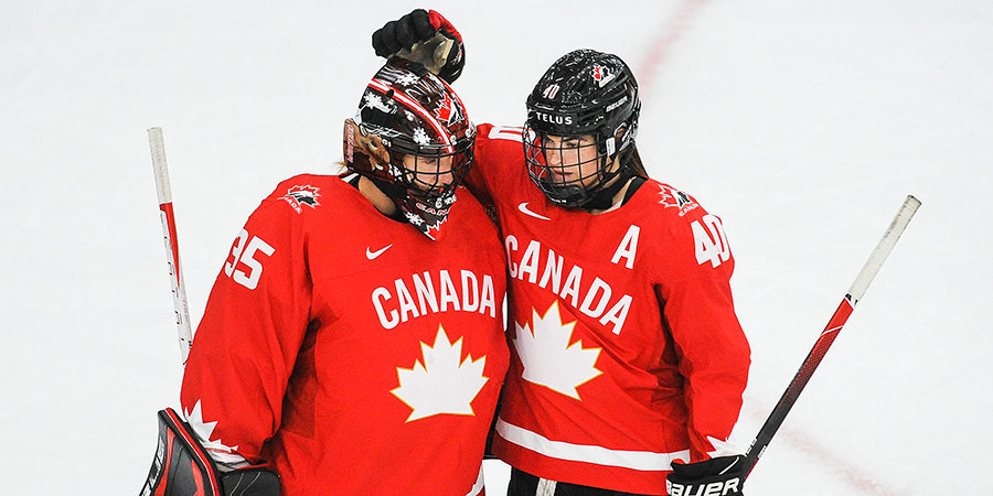 Канада победила Финляндию в матче женского чемпионата мира
