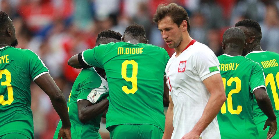 Сенегал огорчил Польшу в матче ЧМ-2018 в Москве