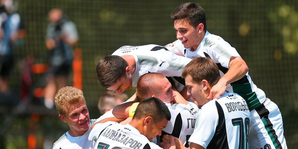 Дубль Уткина принес «Краснодару» победу над «Амкаром» в матче молодежек
