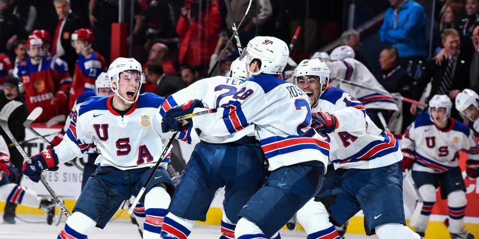 Сборная США выиграла золото молодежного чемпионата мира