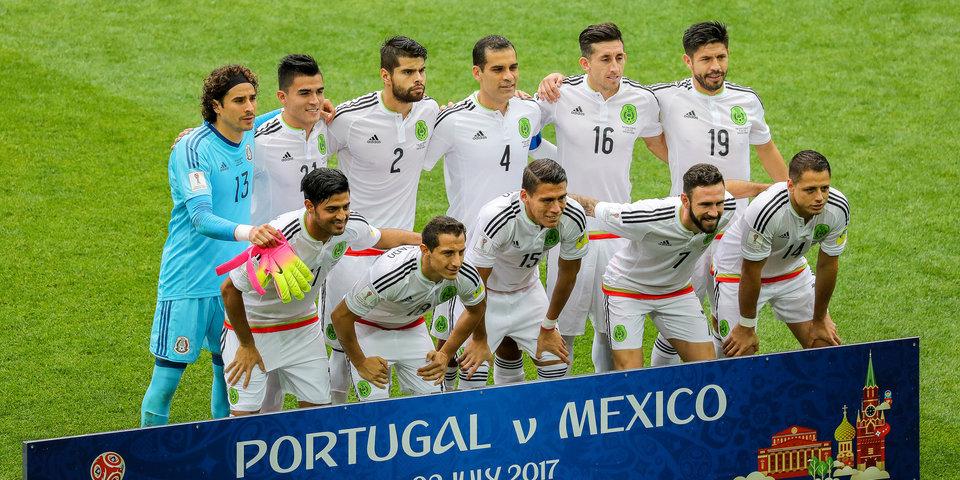 Мексика – самая бьющая сборная Кубка конфедераций