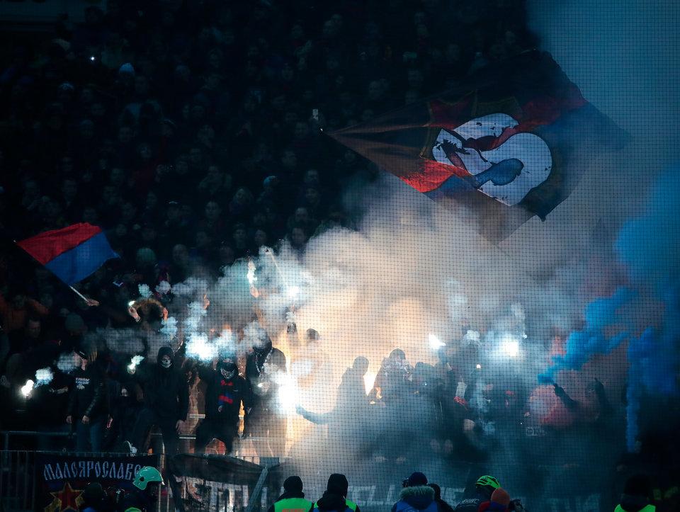 По факту нападения фанатов ЦСКА на гостиницу с болельщиками «Ромы» возбуждено уголовное дело