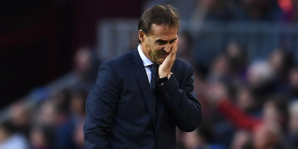 Официально: Лопетеги уволен с поста главного тренера «Реала»