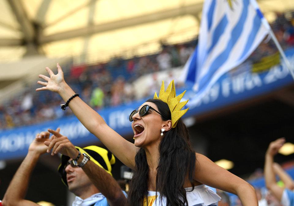 Около 2000 уругвайских болельщиков поддержат сборную на матче с Россией