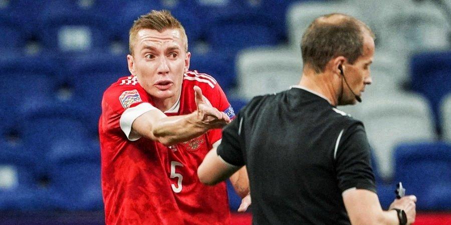Семенов заменил Кудряшова в стартовом составе сборной России