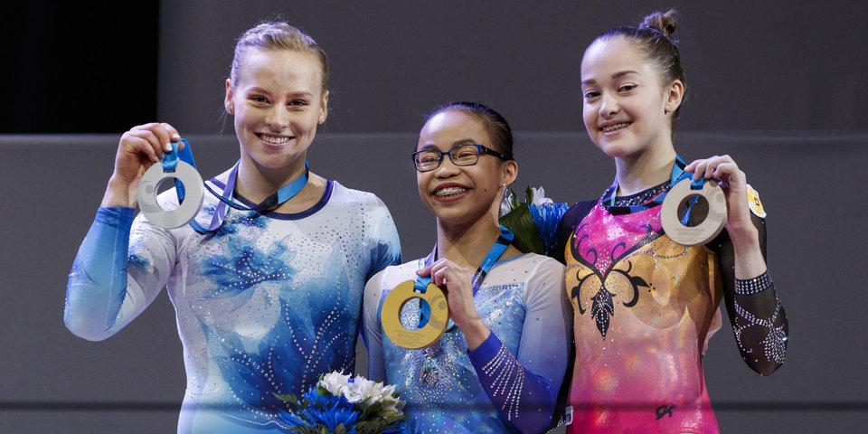 Елена Еремина – бронзовый призер чемпионата мира в многоборье